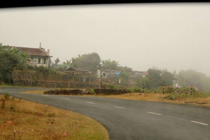 The highway that leads to Shillong