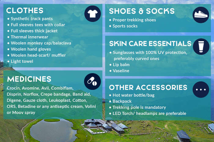 Things to pack for snow camping in Prashar Lake