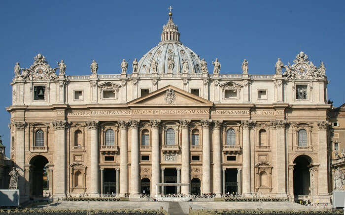 Facade of St. Peter's Basilica