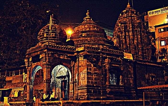 Religious Temple View