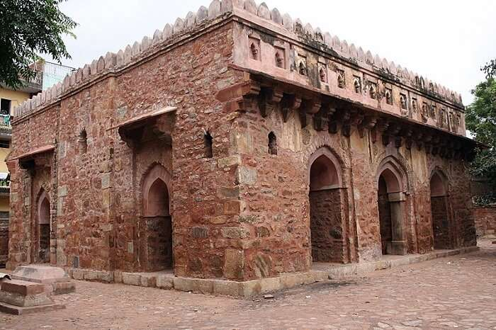 The Tomb of Bahlol Lodhi at the ancient city of Jahanpanah