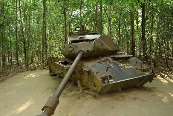 Stepping into history at Cu Chi Tunnels