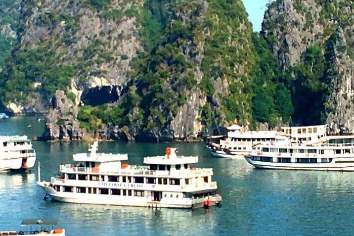 The view from Halong Bay