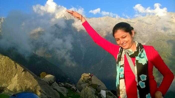 Dushyants wife in Triund