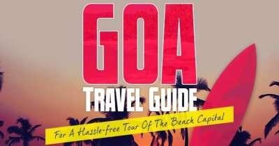 Goa travel guide infographic