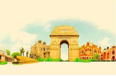 Some of the popular historical monuments in Delhi