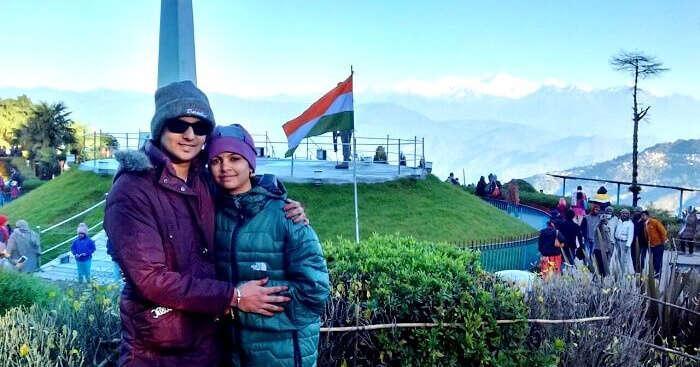 Sanjay on a honeymoon to Sikkim