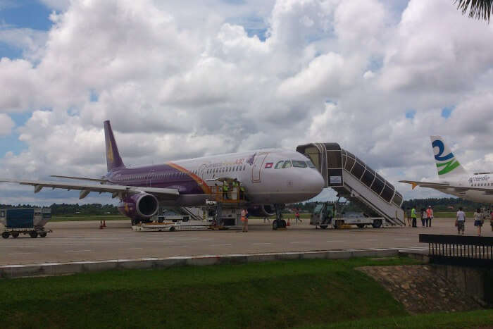 Siem Reap tiny airport