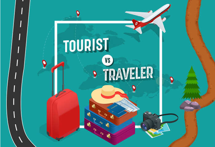 tourist vs traveler infographic: which one describes you?