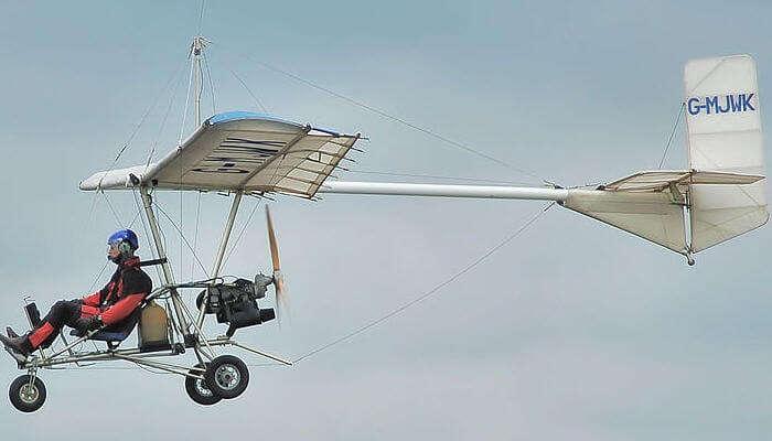 ultralight flight