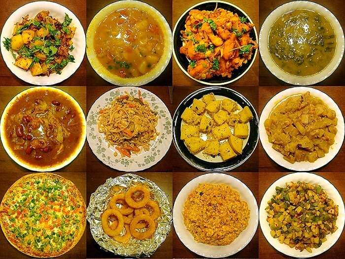 Different types cuisines in India