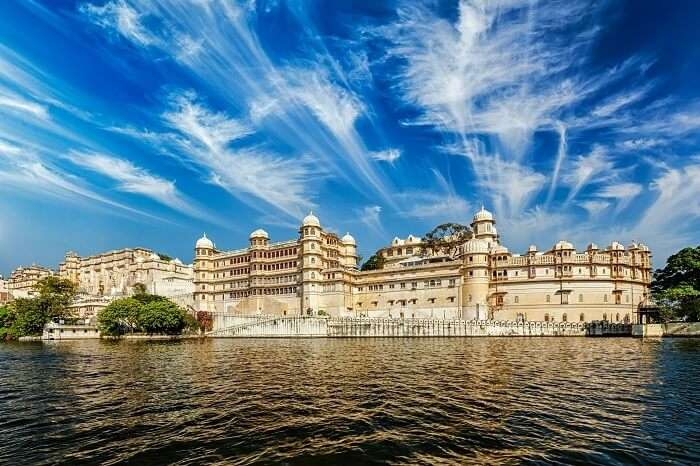 Palace from Lake Pichhola