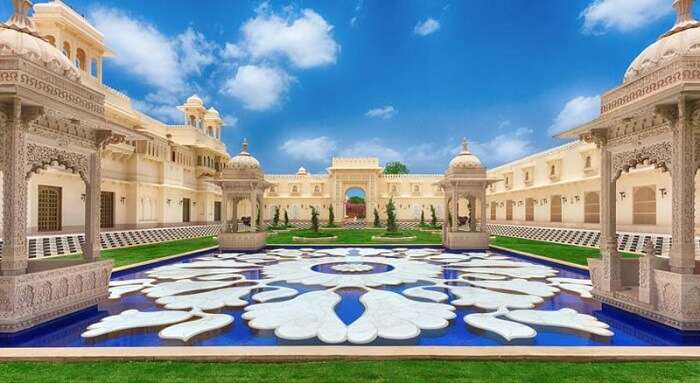 Luxury holiday in five star hotels in Udaipur