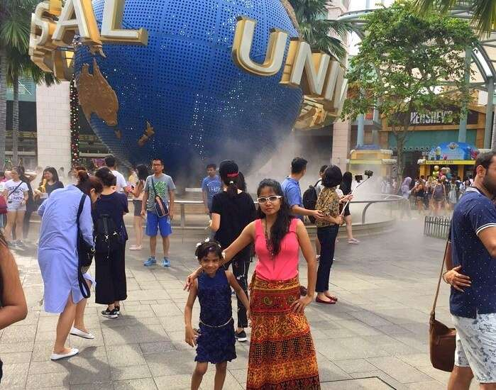 Children at the Universal Studios