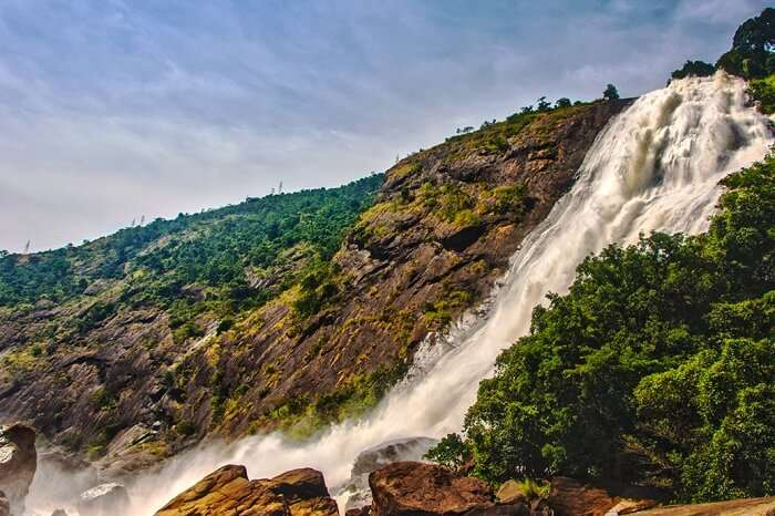A beautiful shot of the Duduma Falls in Jeypore