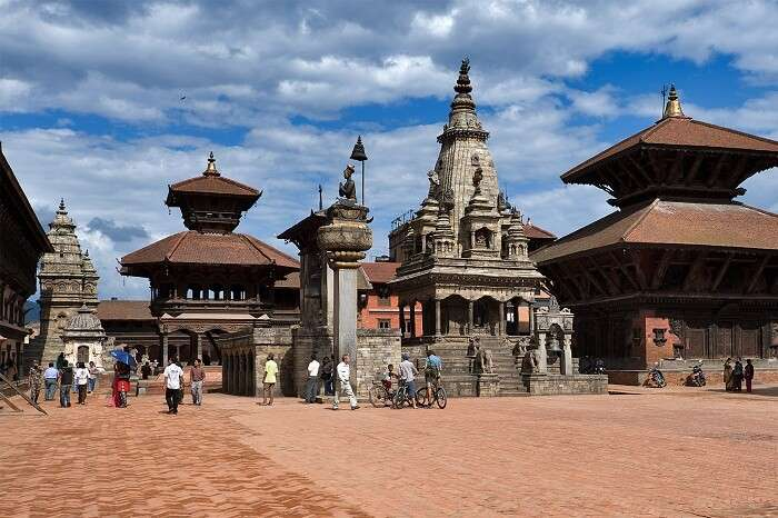 The grand Durbar Square of Bhaktapur