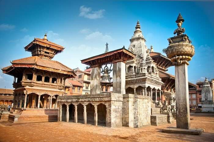 the grand Durbar Square of Kathmandu