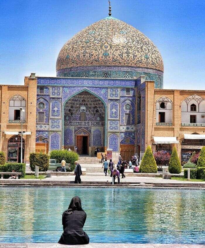 beautiful Esfahan in Iran