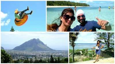 Adventure and love in Mauritius