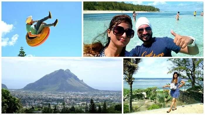 Adventure and love in Mauritius