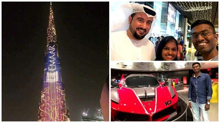Sights and sounds of Dubai