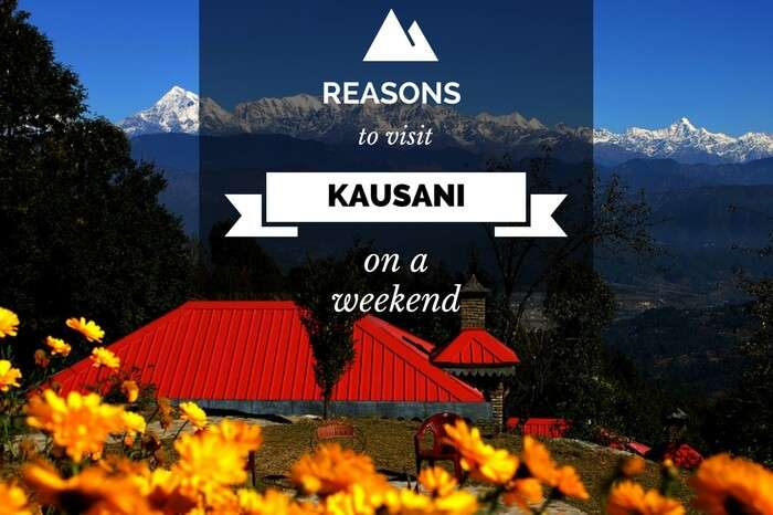A resort in Kausani