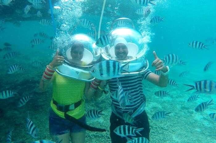Mauritius sea walk