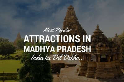 The popular Khajuraho Temple that is one of the popular tourist places in Madhya Pradesh