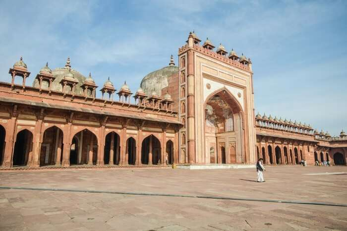 Jama Masjid in Agra is another architectural splendor popular among visitors
