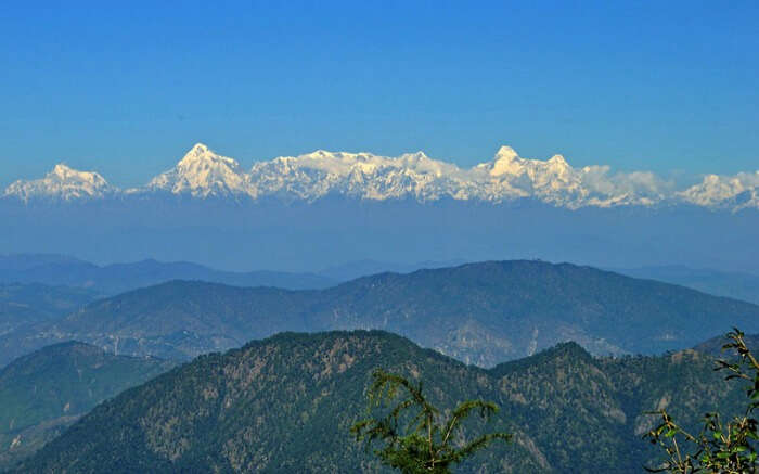 View of Nanda Devi Peak from Mukteshwar