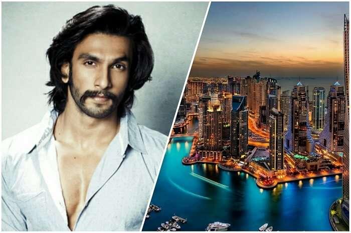 Ranveer in dazzling Dubai