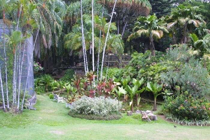famous garden in Victoria city