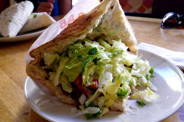A vegan delicacy served at Voner in Berlin