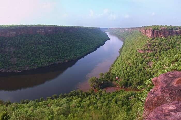 The serene and peaceful Chambal Valley in Madhya Pradesh