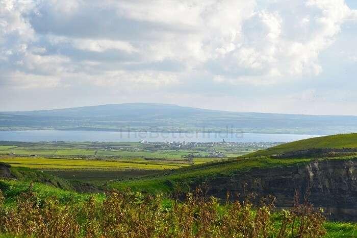 Stunning mountains in Ireland