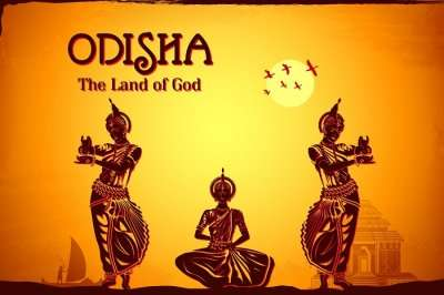 A promotional poster of the Odisha tourism
