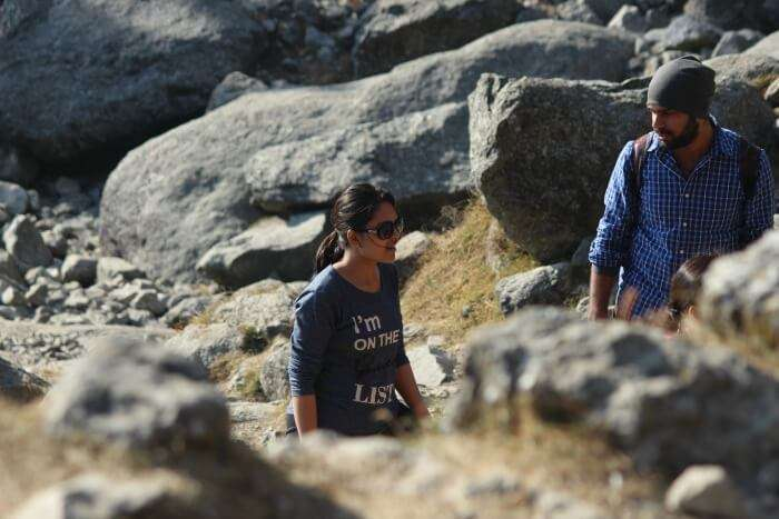 tejal trekking to triund
