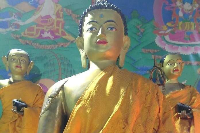 Buddha Statue in Manali