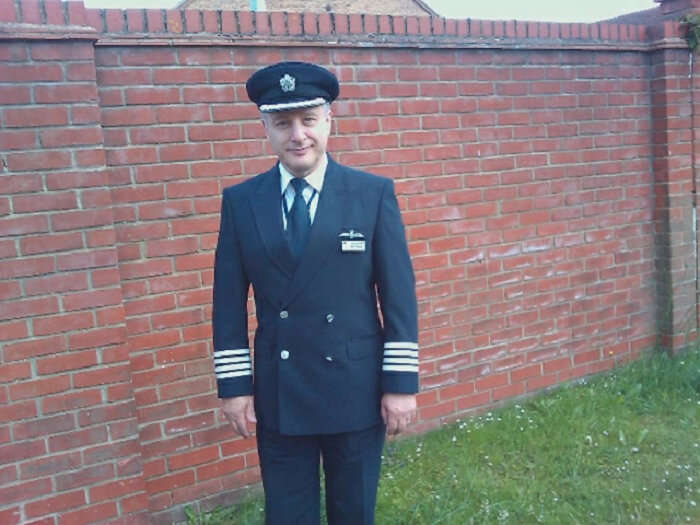 His dad is a pilot which allowed him to visit many countries