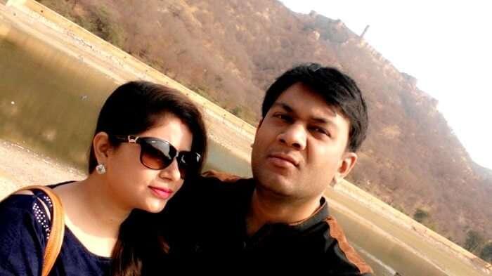 crisp winter morning in jaipur