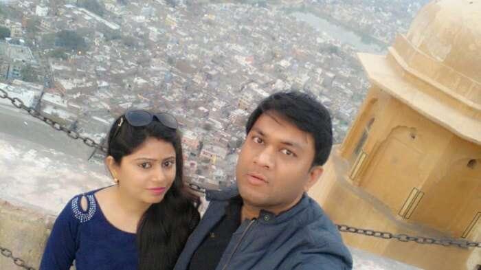 At Jaigarh Fort in Jaipur