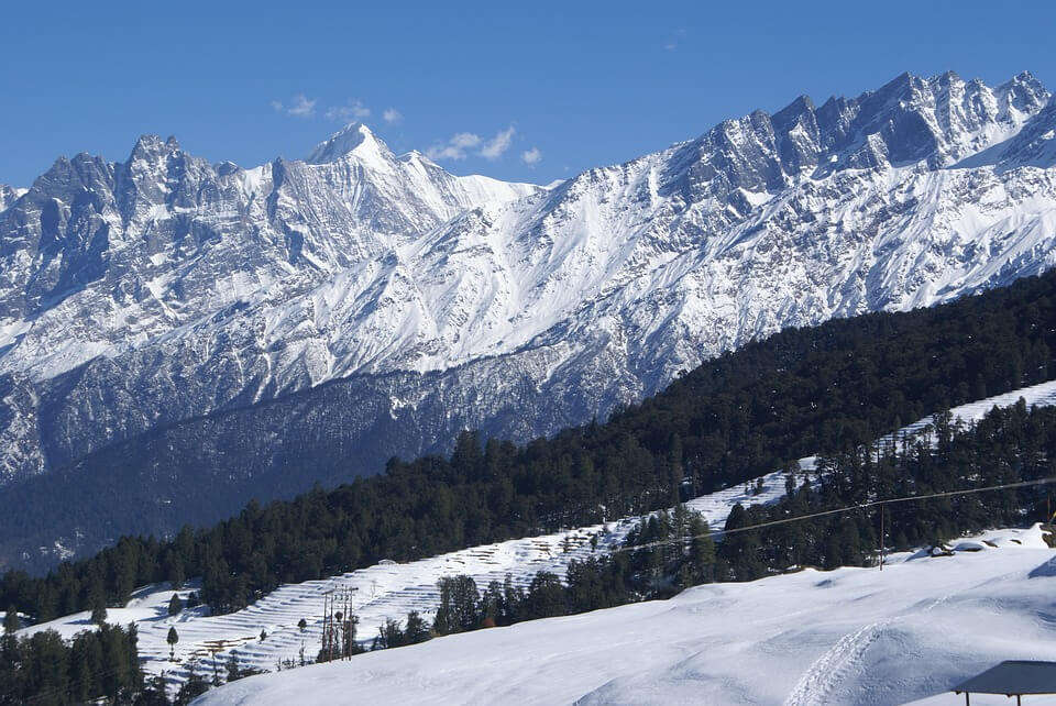 Himalaya Badri Mountain Auli Hills