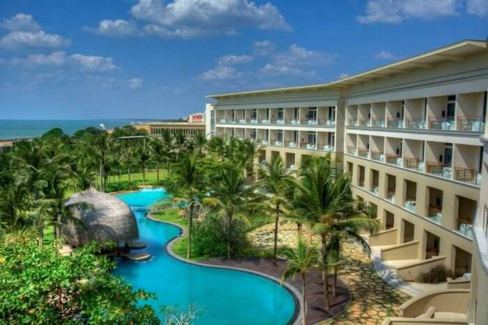 A view of Heritance Negombo in Sri Lanka