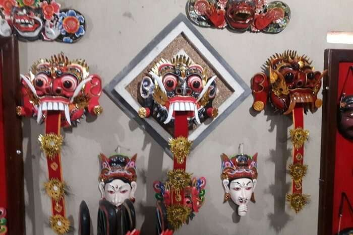 local art shops in Bali