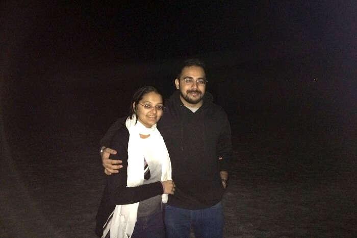 Enjoying the night sky of Kutch
