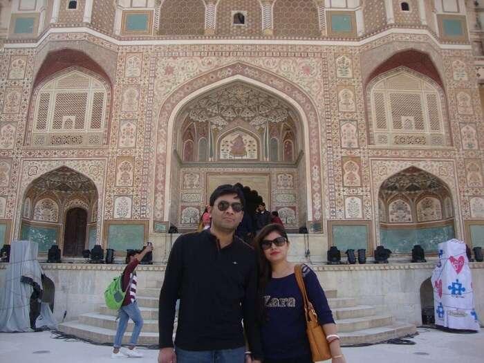 beautiful architecture in Jaipur