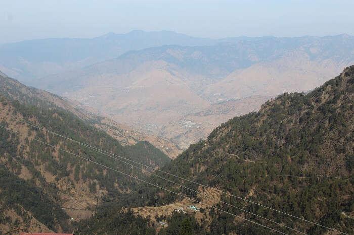 arriving in dhanaulti