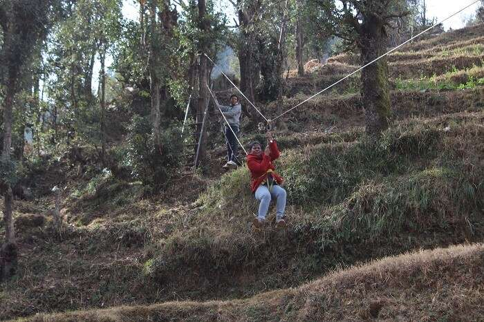 Adventure sports in Dhanaulti