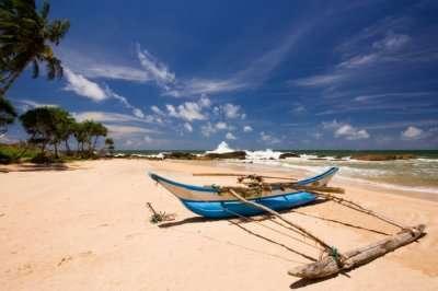 Induruwa beach in Galle