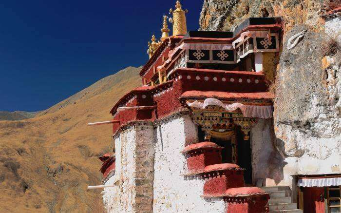 Lhalung Monastery in Spiti
